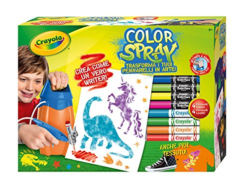 Crayola04-8738–Feutres Color Spray