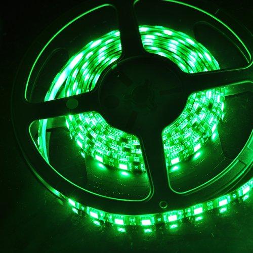New Car Lighting System Green Waterproof 5 Meter 5050 Smd Led Strip Light