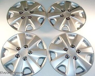Set of Four Replica 2003 - 2004 15 inch Honda Accord Hubcaps - Wheel Covers