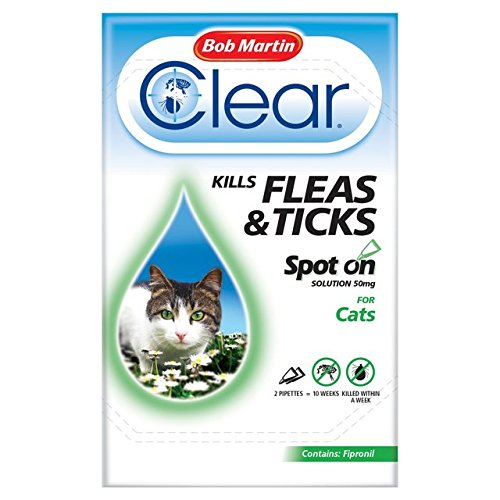 bob-martin-clear-cat-kitten-spot-on-fleas-ticks-treatment-3-tubes-up-to-24-weeks-solution