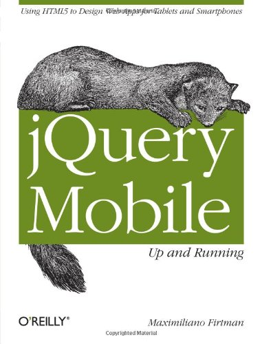jQuery Mobile: Up and Running portable digital version ebook free download