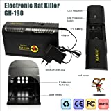 Safe and Reliable Electronic Rat Killer GH-190 delivers high voltage electronic shock Rat Trap