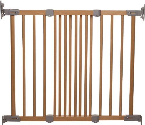 BABY DAN Flexi Fit - Cancello di sicurezza, estendibile da 69  a 106,5 cm, Colore: Naturale