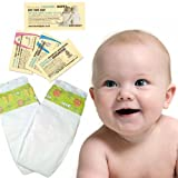 2 Nappies - Nature Babycare Trial Pack Newborn (2 to 5 kg, 4 to 11 lbs)