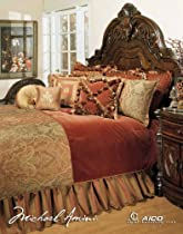 Hot Sale Michael Amini Woodside Park 13 pc King Comforter Set in Spice by AICO