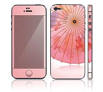 iPhone5 iPhone 5 スキンシール [I5-LP5/和傘]