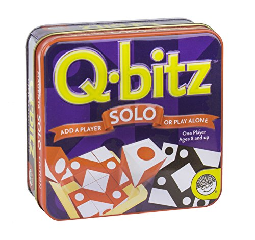 Q-bitz Solo: Orange Game - 1