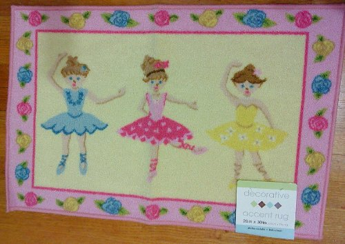 Ballerina Print Level Loop Mat Rug 20