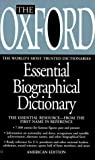 The Oxford Essential Biographical Dictionary