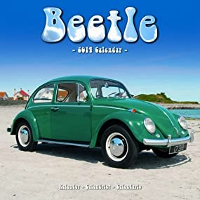 VW Beetle 2014 Wall Calendar