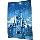 Disney Castle Plush Fleece Throw
