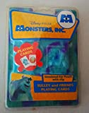 Disney Monsters Inc. Sulley and Friends Playing Cards
