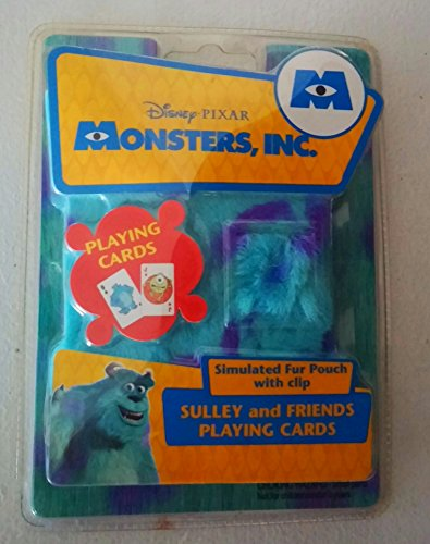 Disney Monsters Inc. Sulley and Friends Playing Cards (Cda Monsters Inc compare prices)