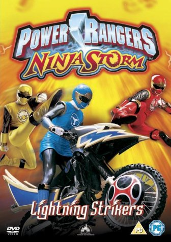 Power Rangers Ninja Storm: Lightning Strikers [DVD]