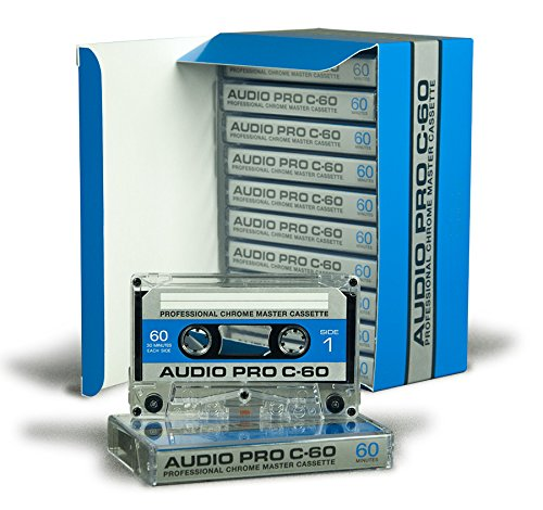 60 MINUTE HIGH BIAS TYPE II STUDIO QUALITY BOXED AUDIO CASSETTE - 10 PACK BOX 0