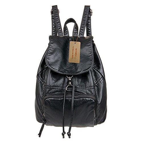 witeryr-womens-premium-pu-leather-casual-backpack-pretty-fashion-schoolbag-purse-handbags-black