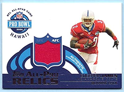 Edgerrin James 2006 Topps Pro Bowl Relics Pro Bowl Game Worn Jersey #APEJ - Indianapolis Colts, Arizona Cardinals