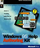 Microsoft Windows 95 help authoring kit :  guide to creating help filesfor Windows 95 /