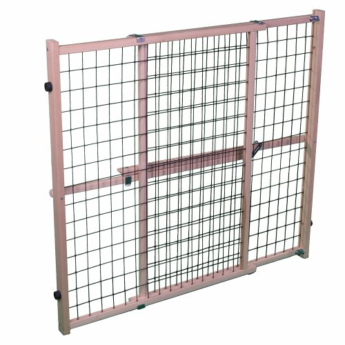 MyPet Extra Wide Wire Mesh Pet Gate - 1