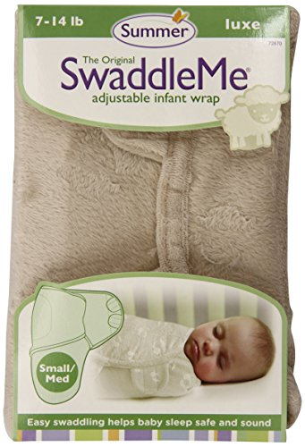 Summer Infant SwaddleMe Luxe Velboa, Unisex - 1
