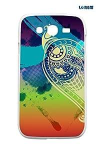 Lorem Back Cover For Samsung Galaxy Grand (i9082)-Multicolor-L13381