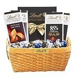 Lindts Dark Lovers Gift Basket