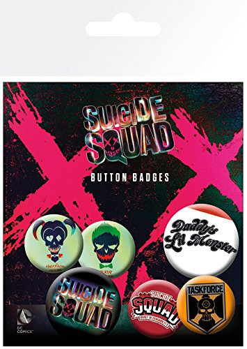 GB eye LTD, Suicide Squad, Lil Monster, Set di spille