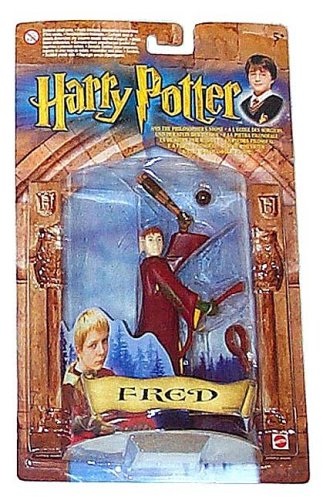 Picture of Mattel Harry Potter Fred Quidditch Team Figure (B0000A01NP) (Harry Potter Action Figures)