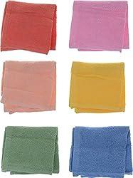 Jai Guruji Enterprises Women's Handkerchief (JG_0104, 12 Pieces)