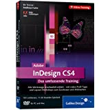 "Adobe InDesign CS4. Layouts entwerfen und gestalten. Das Video-Training auf DVDvon ""Galileo Press"""