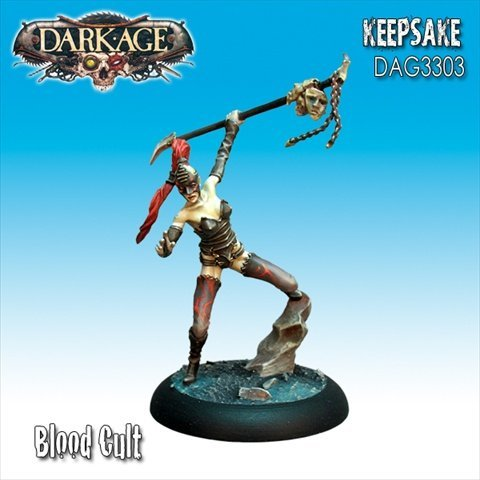Dark Age Games 3303 Skarrd Keepsake, Miniatures And Miniature Games - 1