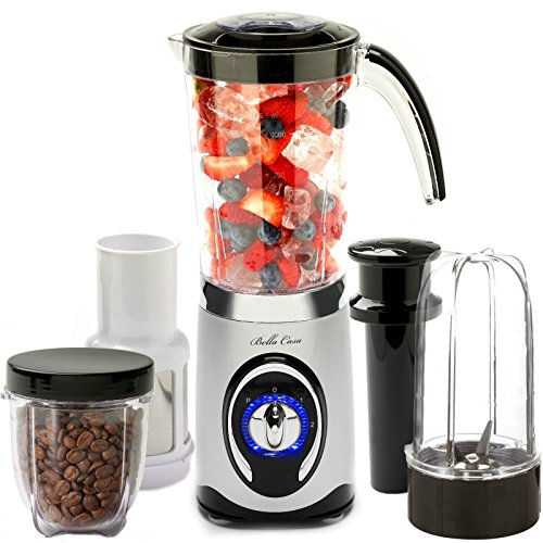 Bella Casa 4 in 1 Nutri Magic Smoothie Maker Blender Grinder ...