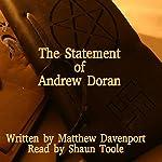 The Statement of Andrew Doran   Matthew Davenport