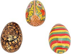 Imperial Collections Cardboard Easter Eggs (IC-71, 4.5 cm x 3 cm, Set of 3)