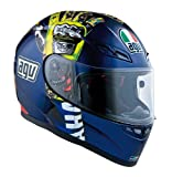 AGV VALENTINO ROSSI MUGELLO 09-GLOVES LIMITED-EDITION HELMET. 3X-LARGE/3XL