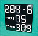 Mini-Digi Portable or Mounted Cricket Scoreboard  – with 9 white number units