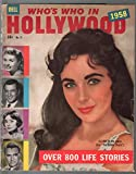 Who's Who In Hollywwod #13-1958-Dell-Liz Taylor-800+ stars-pix-info-VG