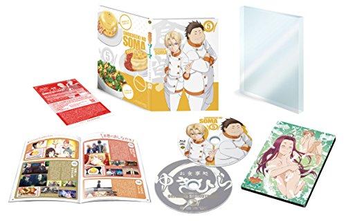 「食戟のソーマ」第5巻<初回生産限定版> 【イベントチケット先行購入申込券付】 [Blu-ray]