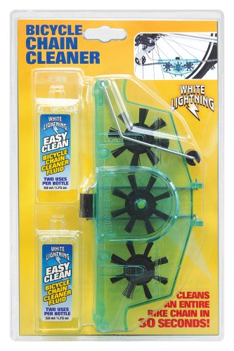 White Lightning Bike Chain Cleaner Kit (Bike Chain Cleaner compare prices)