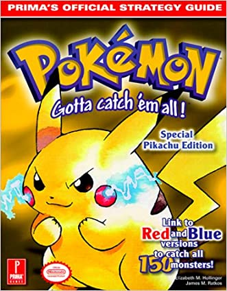 Pokemon Yellow (Prima's Official Strategy Guide)