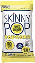 Skinny Pop Popcorn 100 Calorie Bags White Cheddar 065 Oz Pack of 36