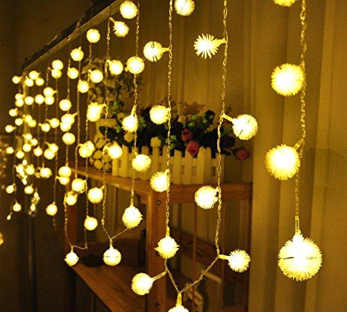 FAPPY 40 LED palla sfera stringa leggiadramente illumina 5M festa di nozze di Natale Home Decor warm White - Led Si Illumina Di Nozze