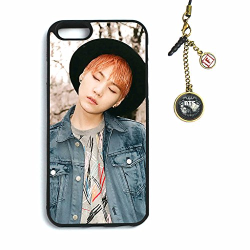 Fanstown BTS KPOP in the mood for love iphone6 case + Dust plug charm (Hope Merchandise compare prices)