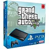 PlayStation 3 - Konsole Super Slim 500 GB (inkl. DualShock 3 Wireless Controller + GTA V)