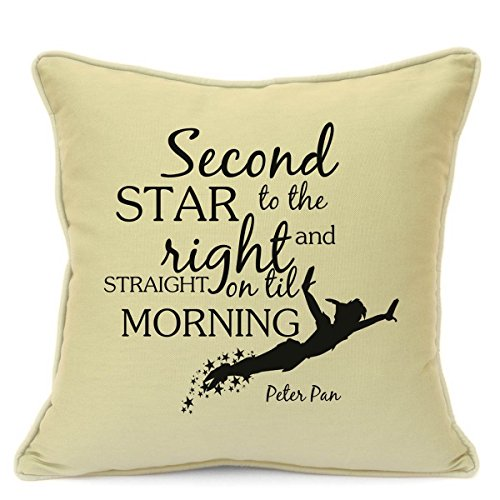 peter-pan-gift-cushion-cover-second-star-to-the-right-and-straight-on-til-morning-quote-beige-cushio