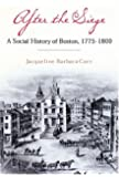 After the Siege: A Social History of Boston, 1775-1800