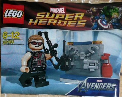 Lego Super Heroes: Hawkeye With Equipment Set 30165 (Bagged)