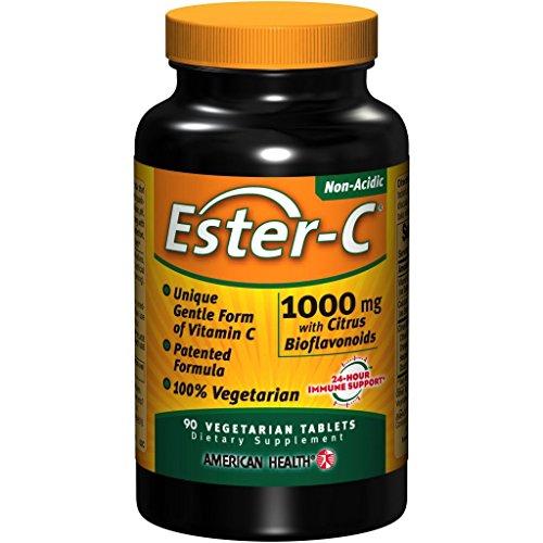 エスターC 1000mg+シトラスバイオフラボノイド 90タブレット (海外直送品)