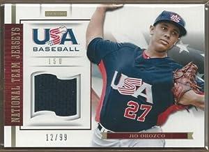 2012 USA Baseball 15U National Team Jerseys #15 Jio Orozco