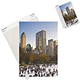 Photo Jigsaw Puzzle of USA, New York City, Manhattan ,Central Park, Wollman Icerink